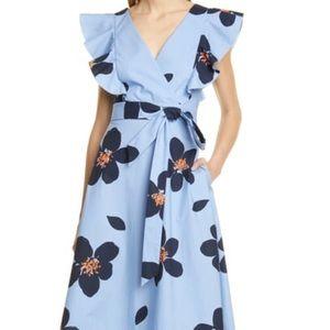 NWT Kate Spade Grand Flora Midi Dress